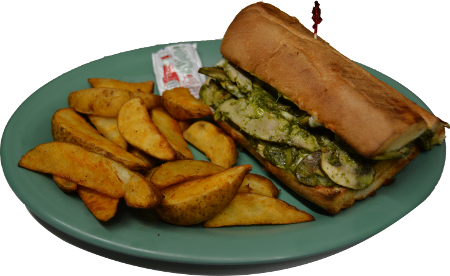 Chicken Pesto Sandwich 450