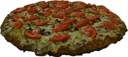 Pesto-Pizza 450